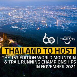 Mondiaux de trail et montagne 2021 en Thailande